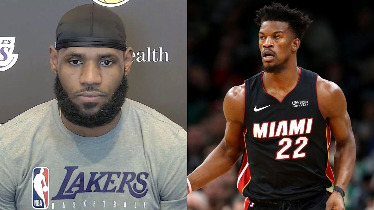 'Jimmy Butler made one more play than me': LeBron James