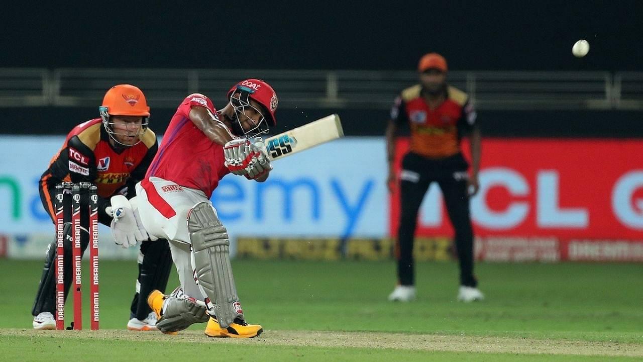Pooran cricket player: Watch Nicholas Pooran smashes 28 runs off Abdul Samad over in SRH vs KXIP IPL 2020 match