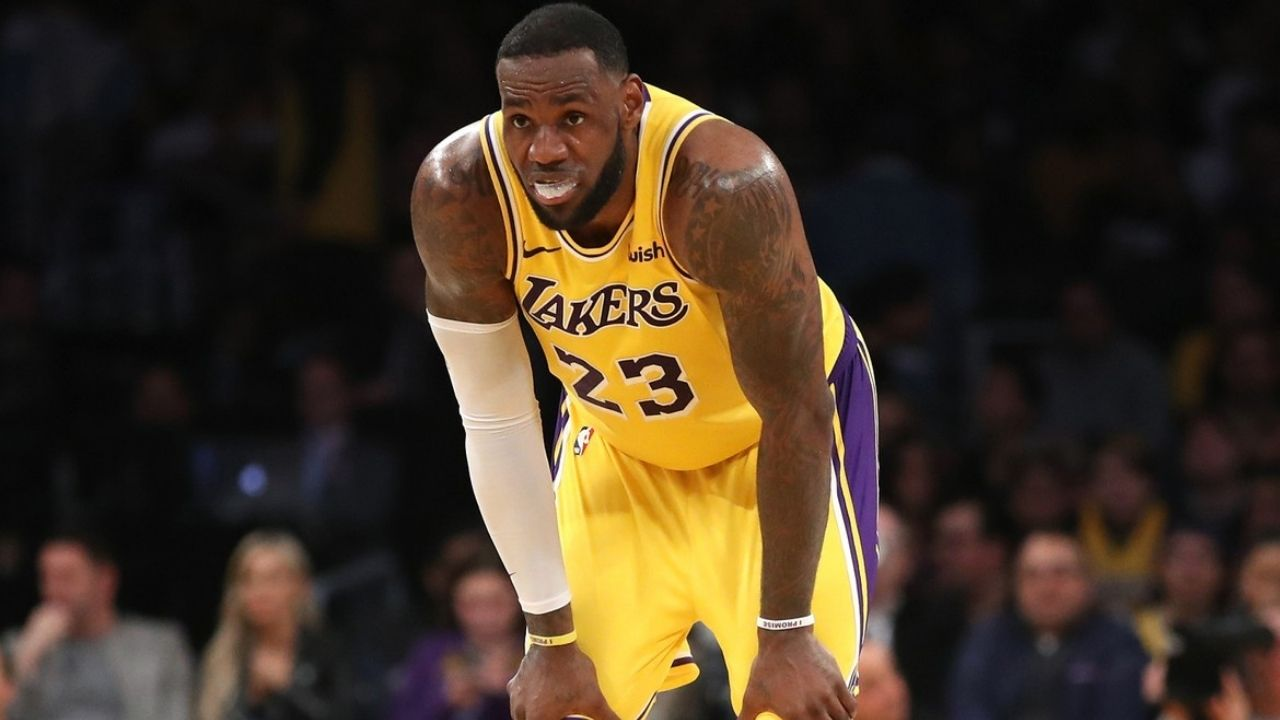 Marrese Speights ridicules Lakers' LeBron James