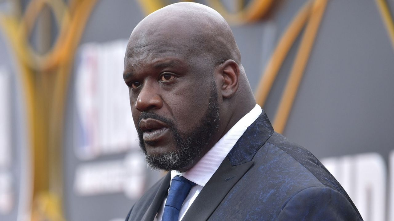 Shaquille O'Neal claims it 'feels good' to pop his voting cherry