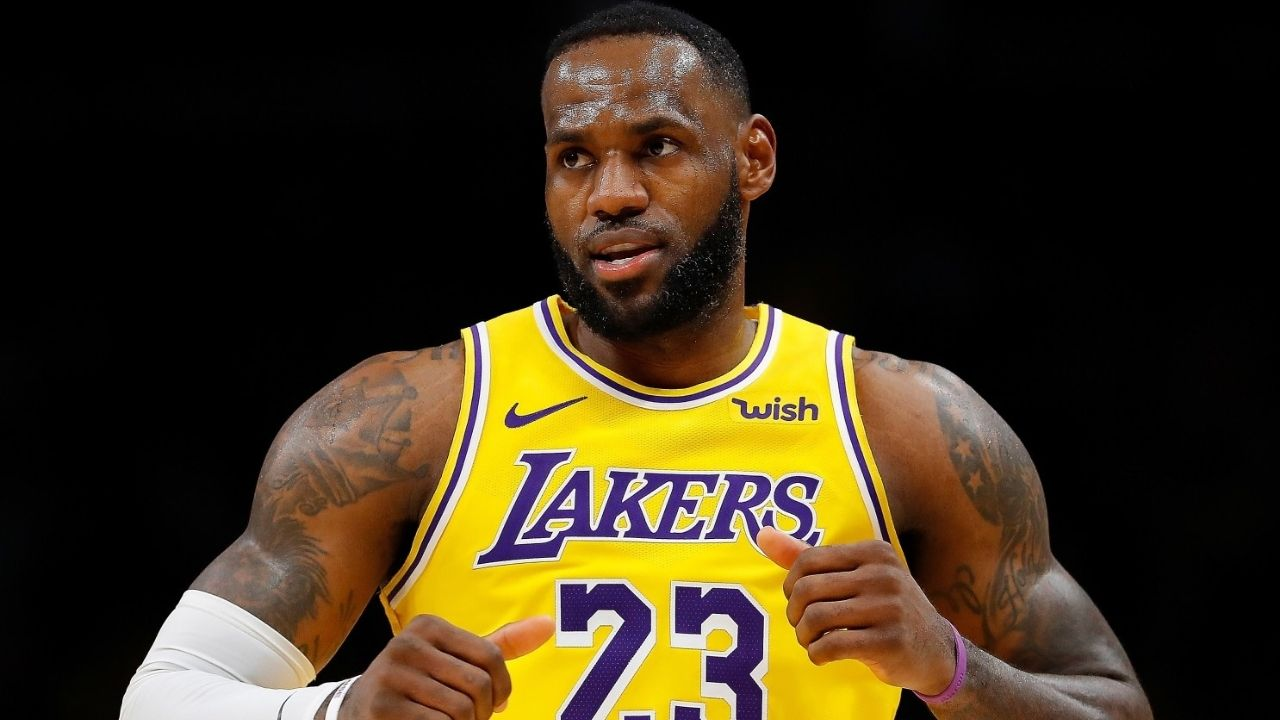Lakers faithful don't give a damn what you've done before': LeBron James