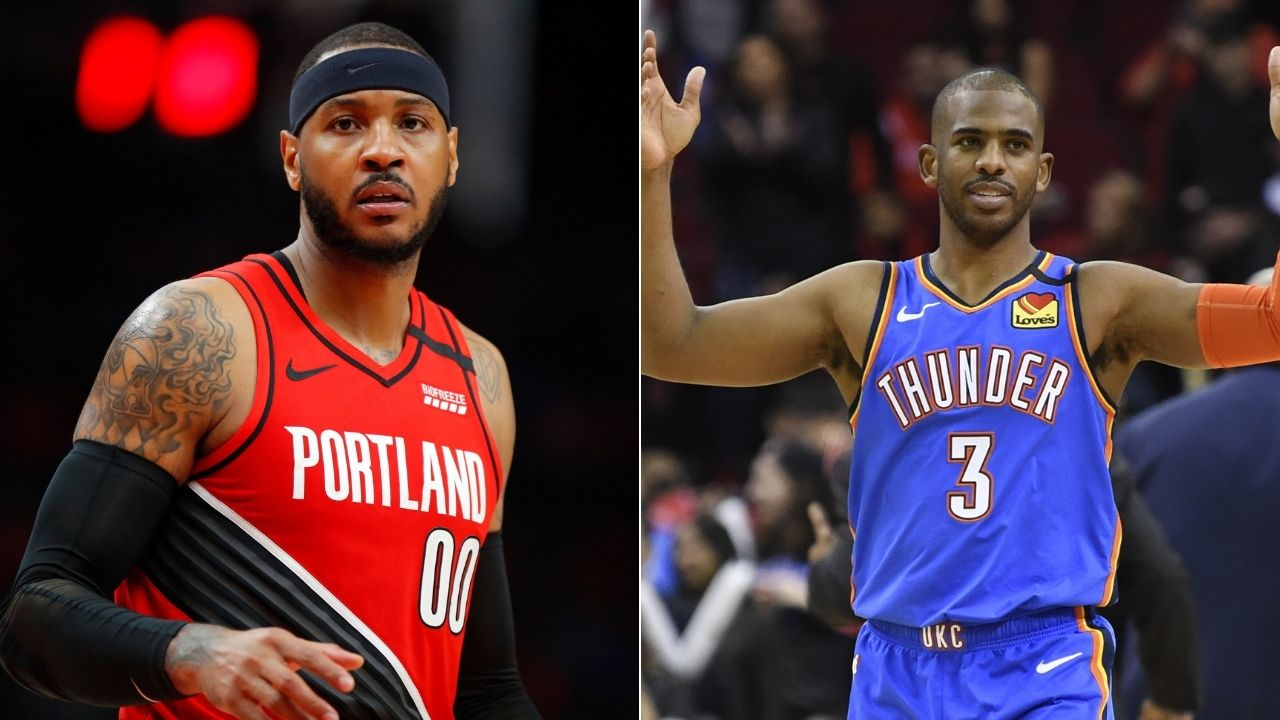 Chris Paul and Carmelo Anthony to join Knicks
