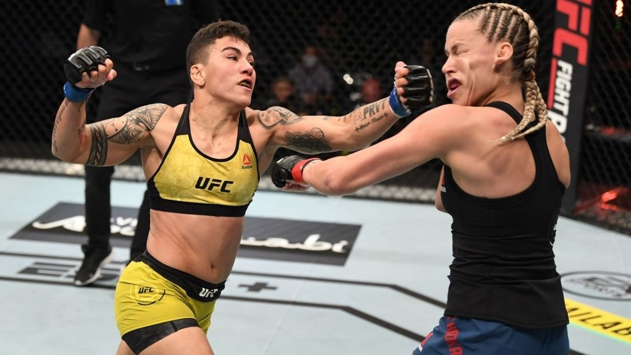 UFC Fight Island 6: Jessica Andrade Becomes The First Woman To Secure Victories In Three Weight Divisions