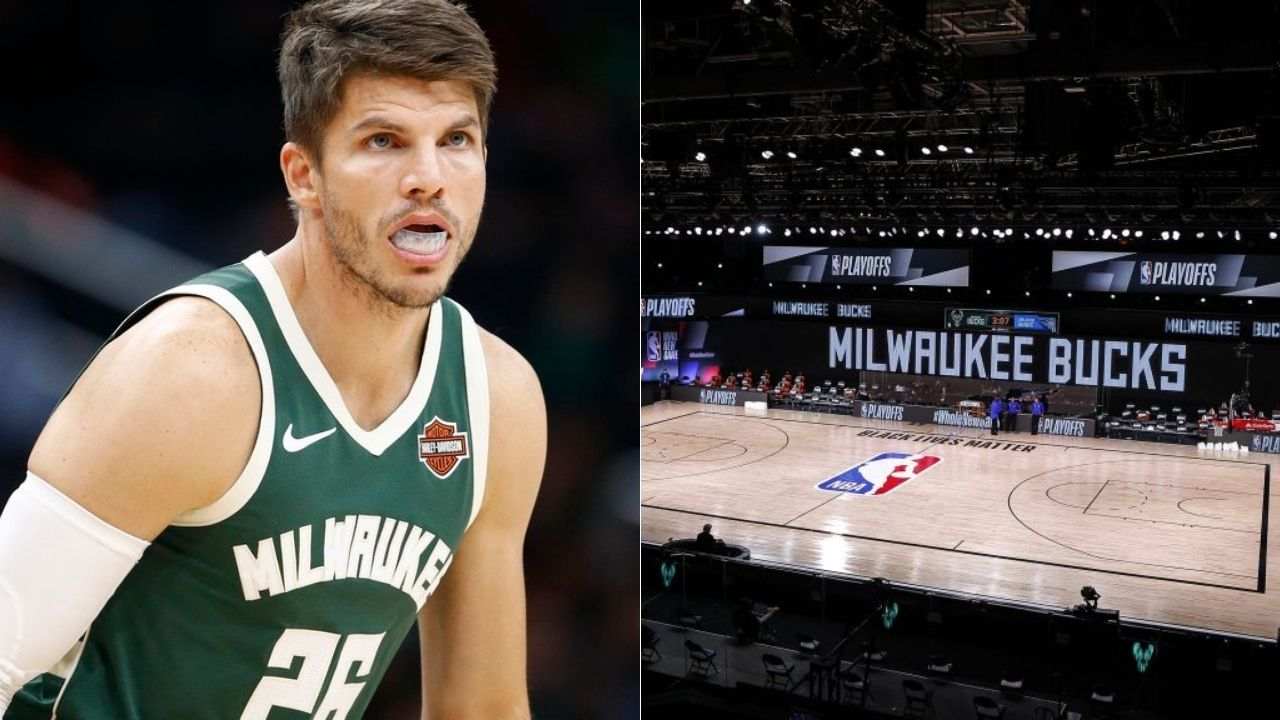 Kyle Korver describes Bucks' locker room talk before 'Bubble boycott'
