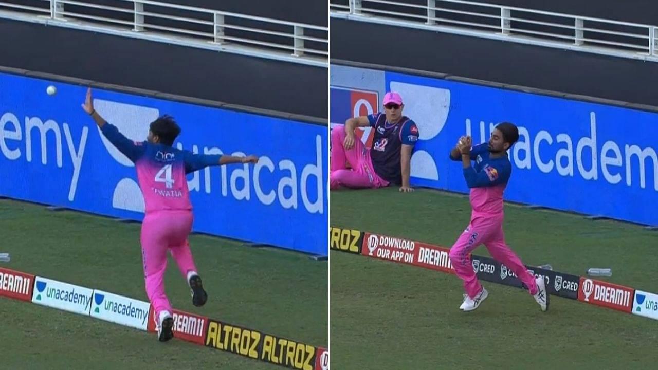 'Game-changing catch': Yuvraj Singh admires Rahul Tewatia's outstanding catch to dismiss Virat Kohli in IPL 2020