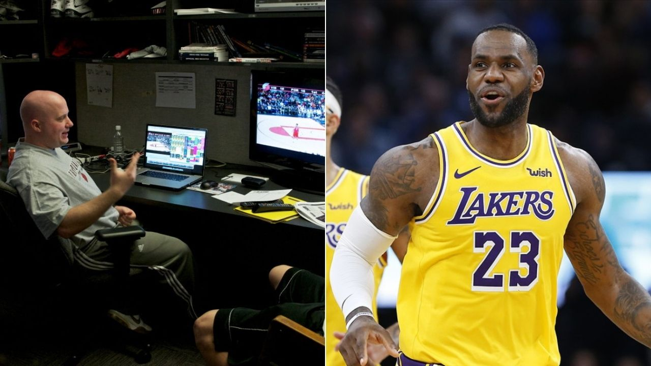 How Lakers' video coordinators helped LeBron James and co. with NBA title run
