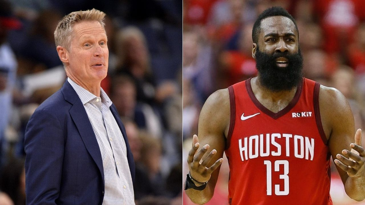 Steve Kerr mocks James Harden and Rockets