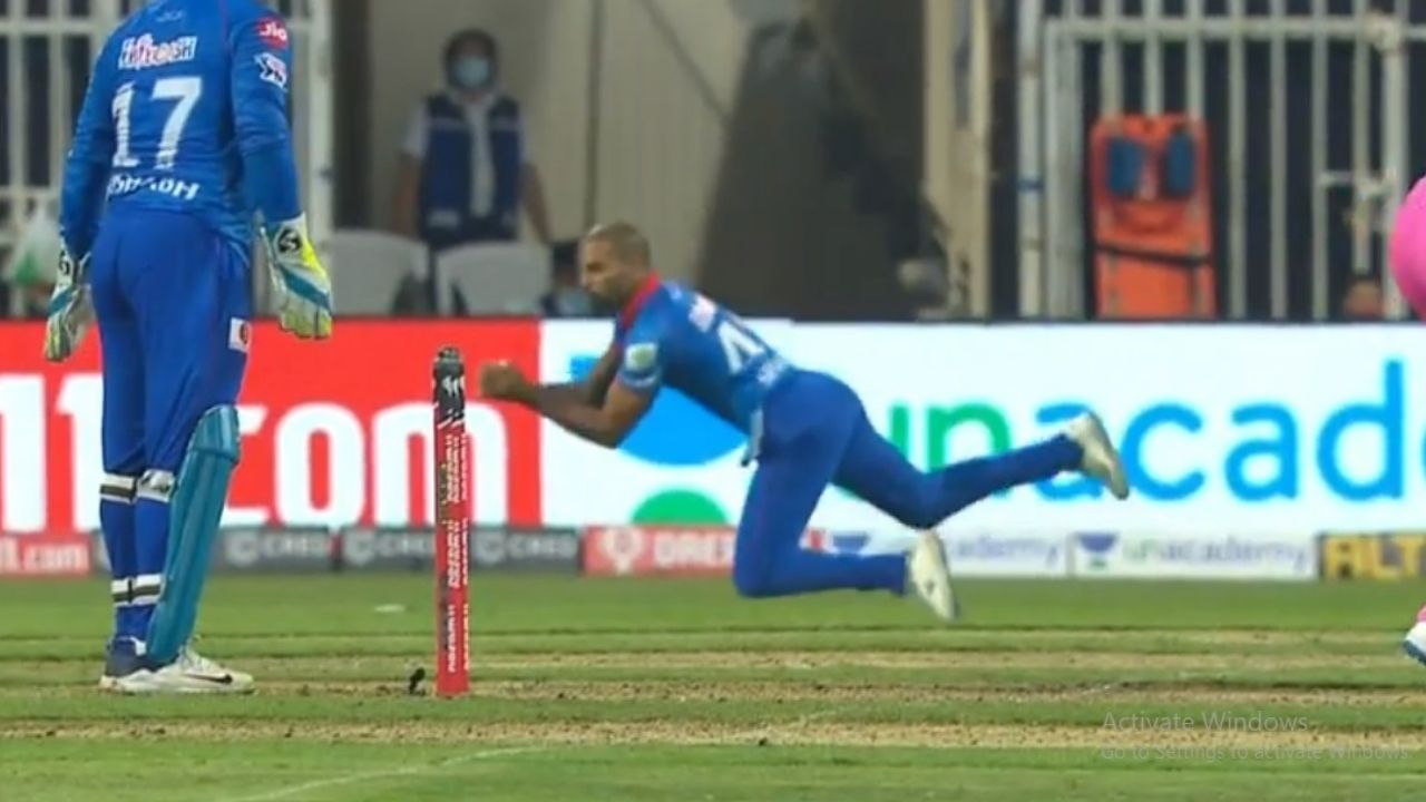 Ashwin vs Buttler: Shikhar Dhawan grabs excellent catch as Ashwin dismisses Buttler in DC vs RR IPL 2020 match