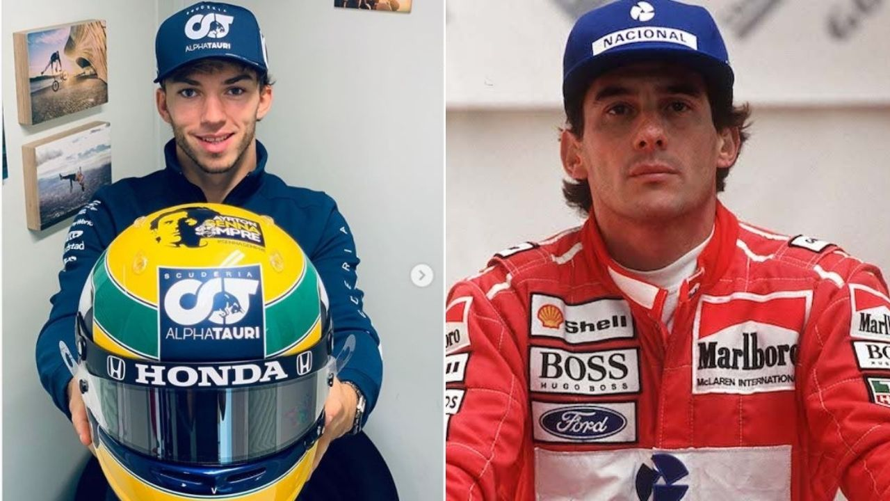 """""""Tribute to Ayrton this weekend""""- Pierre Gasly reveals customized helmet to give tribute to Ayrton Senna at Imola"""