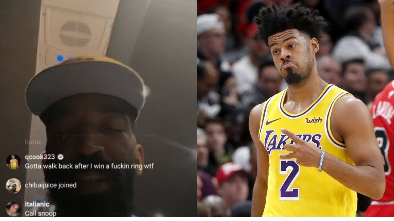 Quinn Cook tells JR Smith Lakers' bus left him at the arena