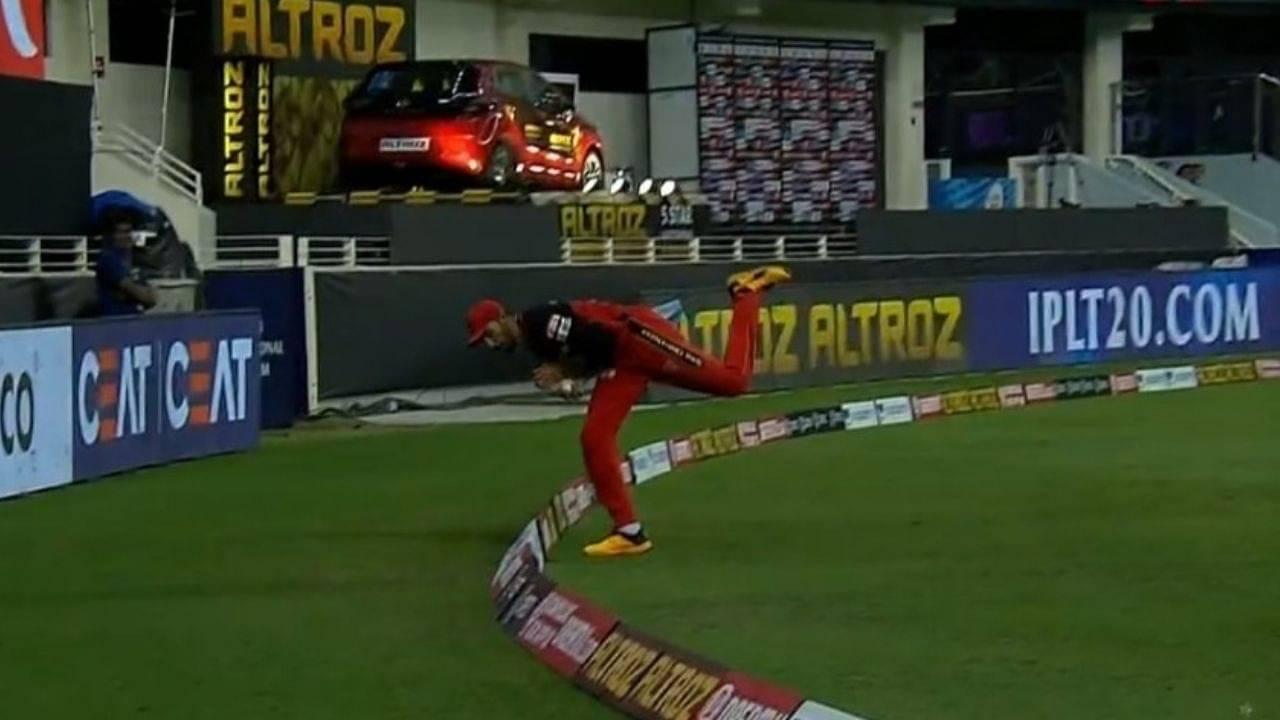 Devdutt Padikkal catch vs Delhi Capitals: Watch RCB fielder grabs first-rate boundary catch to dismiss Shreyas Iyer in IPL 2020