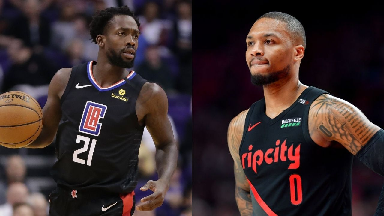 Clippers' Patrick Beverley is apparently in Cancun and wants reactions from Damian Lillard and co.