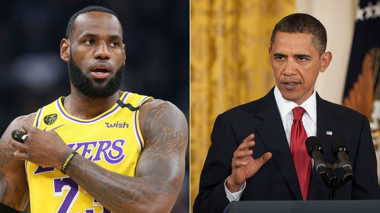 Barack Obama and Lakers' LeBron James' message to voters before 'The Shop' appearance