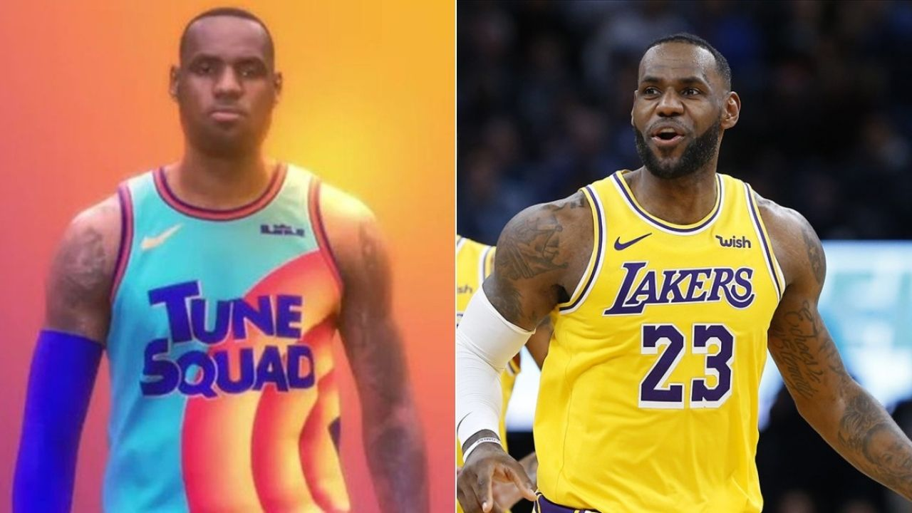 LeBron James' Space Jam 2 plot has been leaked