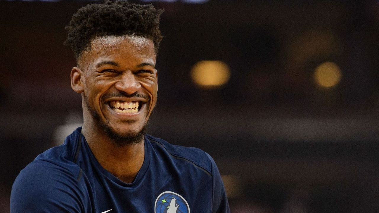 Jimmy Butler removed his rearview mirrors