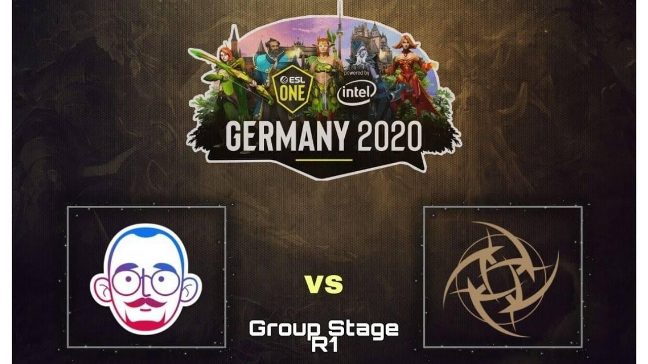 NiP defeat 5men in opening series of ESL One Germany