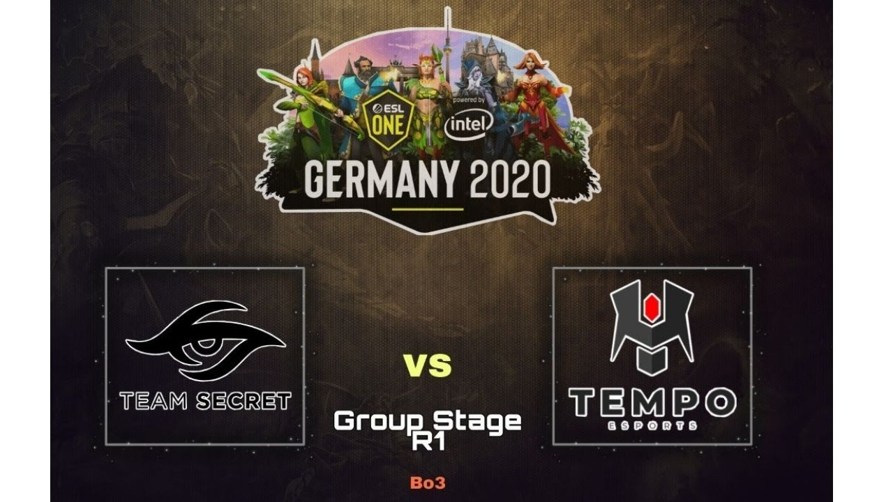 Team Secret win opening game of ESL One Germany against Tempo