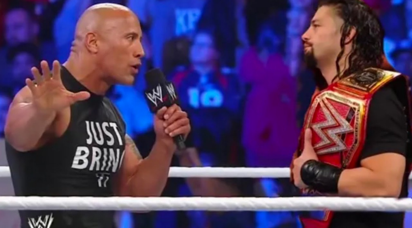 Paul Heyman claims The Rock floated the idea of a match with Roman Reigns