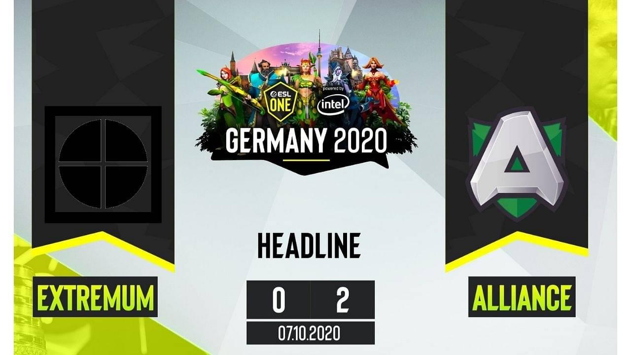 Alliance beat Extremum ESL