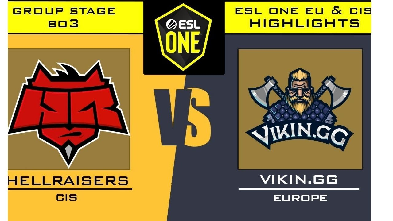 Viking.gg defeat HeallRasiers 2-1 in ESL One Germany Group Stage R1