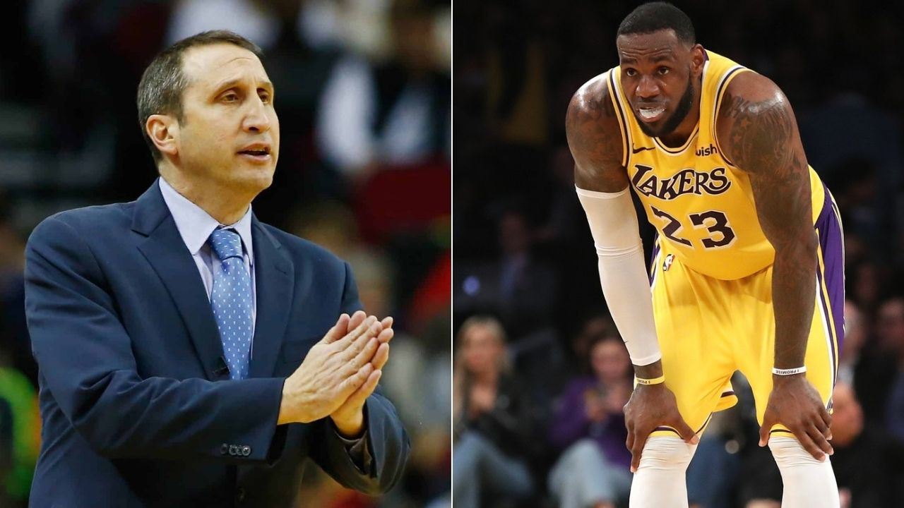 When Lakers' LeBron James refused to talk to Cavs Head Coch David Blatt for being in a towel