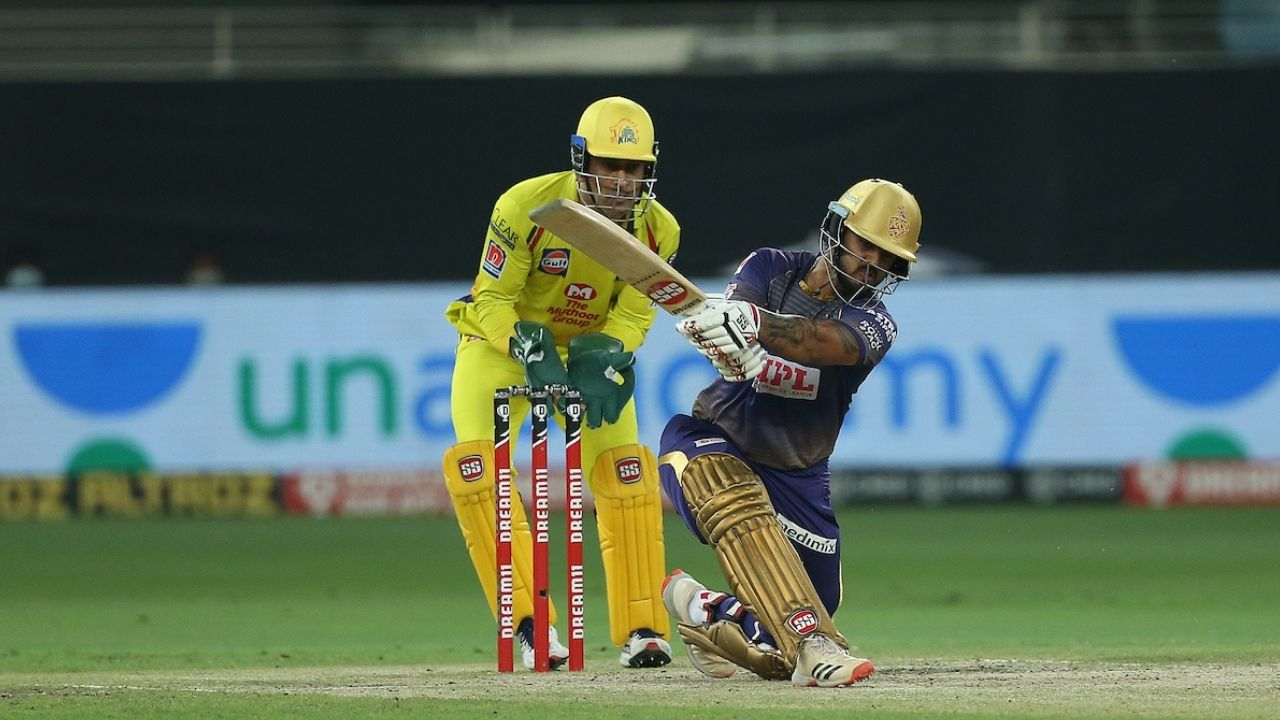 Rana cricket player: Watch Nitish Rana smashes three consecutive sixes off Karn Sharma in KKR vs CSK match