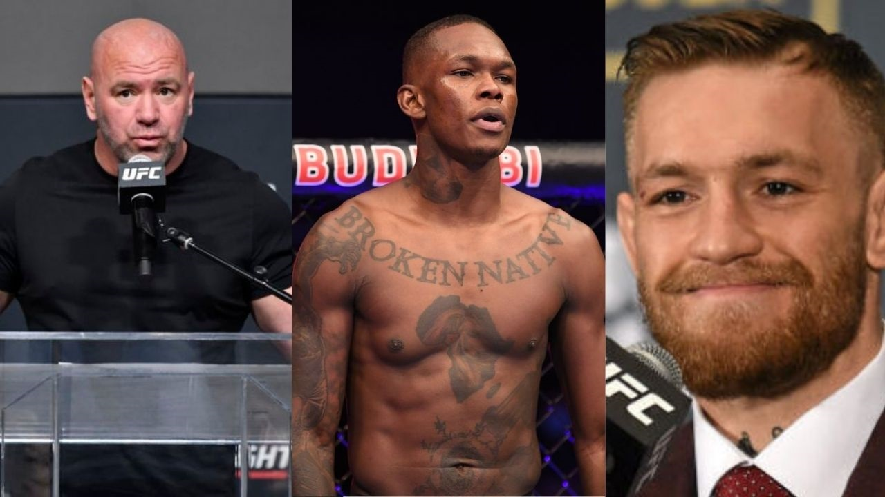 """""""It's almost like stealing Adesanya's thunder""""- Dana White Questions Conor McGregor's Intent Over The Timing He Picked To Leak The Personal Messages"""