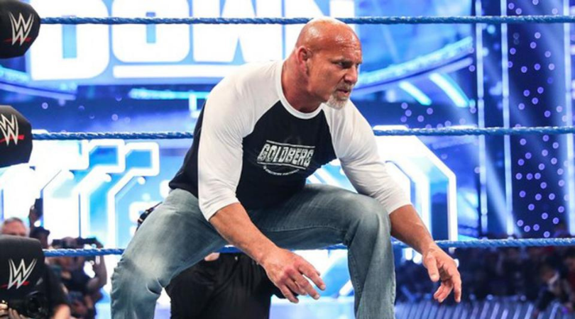 Goldberg announces WWE appearance