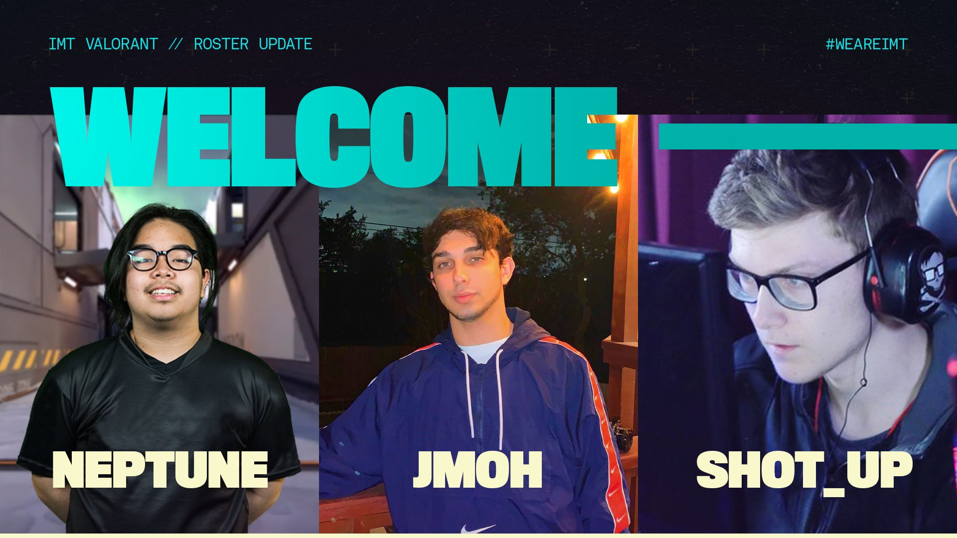 Immortals sign neptune, jmoh and ShoT UP to complete their roster