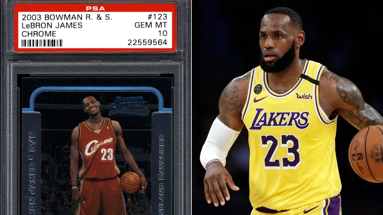 I Didn T Hear Those Numbers Lebron James On 1 8 Million And 900k Bids For His Two Rookie Cards The Sportsrush