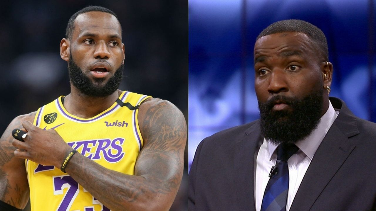 """""""LeBron James is more accomplished than Bill Russell"""": Kendrick Perkins explains why Lakers star is better than Michael Jordan"""