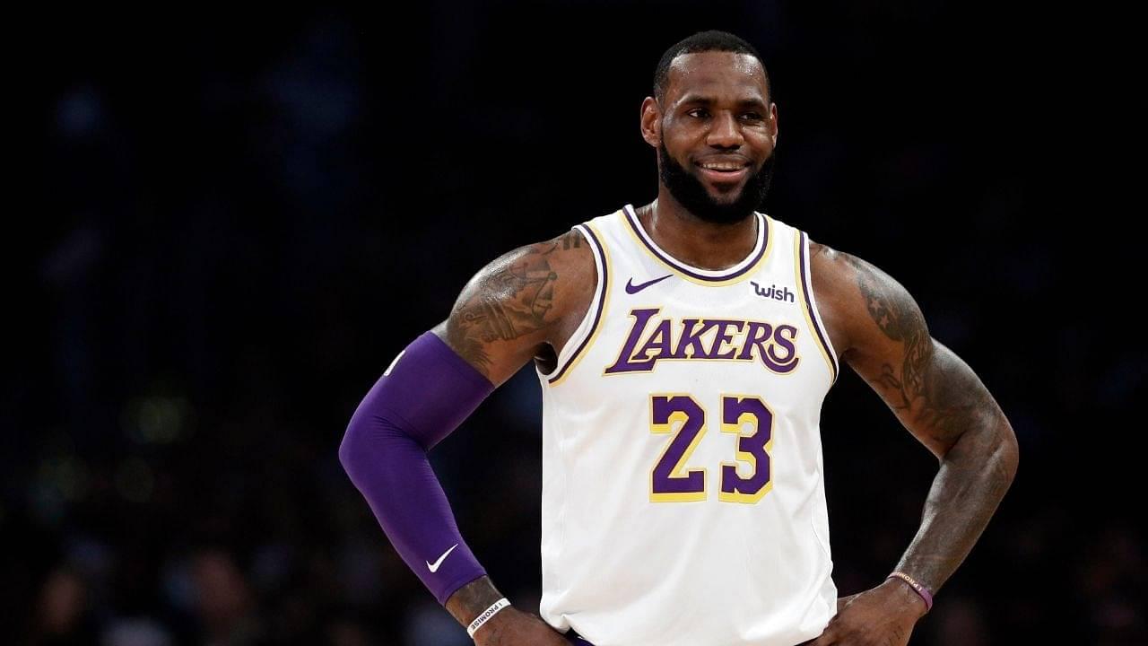 I want my god damn respect too': LeBron James