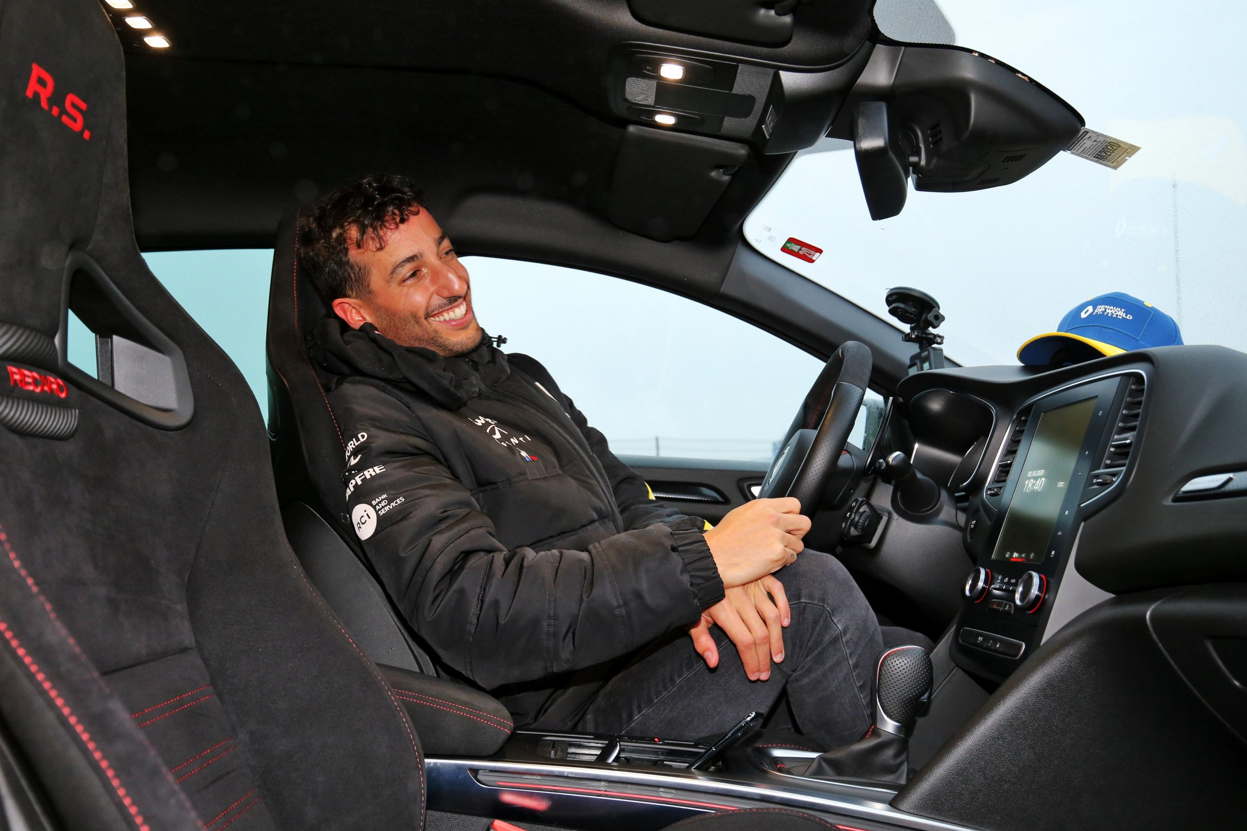 """""""I scared myself, let's say that"""" - Renault F1's Daniel Ricciardo not very keen to race at Nurburgring again"""