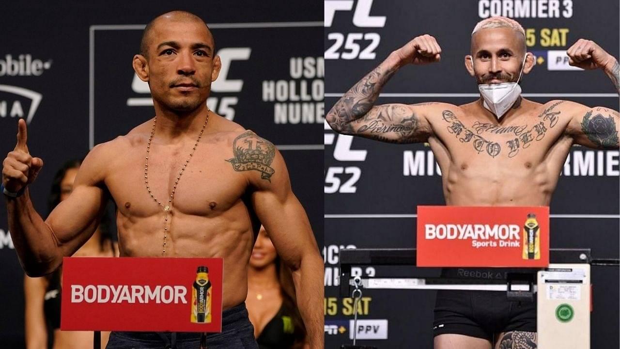 UFC News: Jose Aldo Vs. Marlon Vera Set To Take Place On November 21