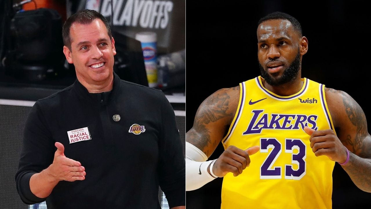 LeBron James clapped, 'that's a hell of a scouting report'': Jared Dudely on Lakers' Frank Vogel