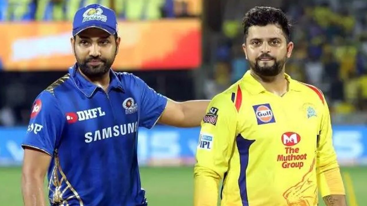 'Proud of you': Suresh Raina congratulates Rohit Sharma for completing 5,000 IPL runs