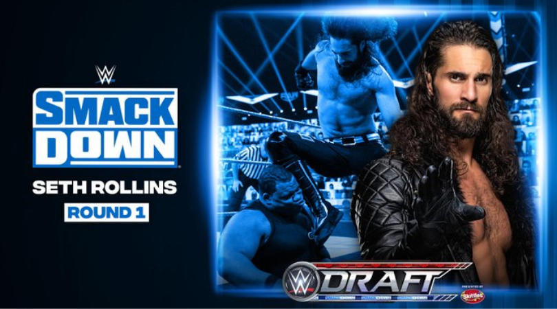 Seth Rollins drafted to WWE SmackDown for the first time ever