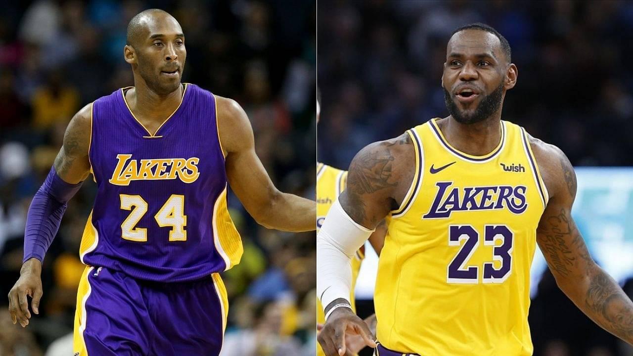 LeBron James posts heartfelt tribute for Lakers legend Kobe Bryant