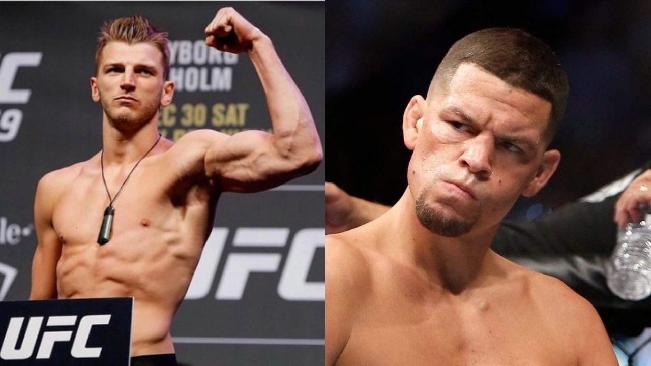 """So 55 or 70?""- Dan Hooker Wants an Upright Answer From Nate Diaz"