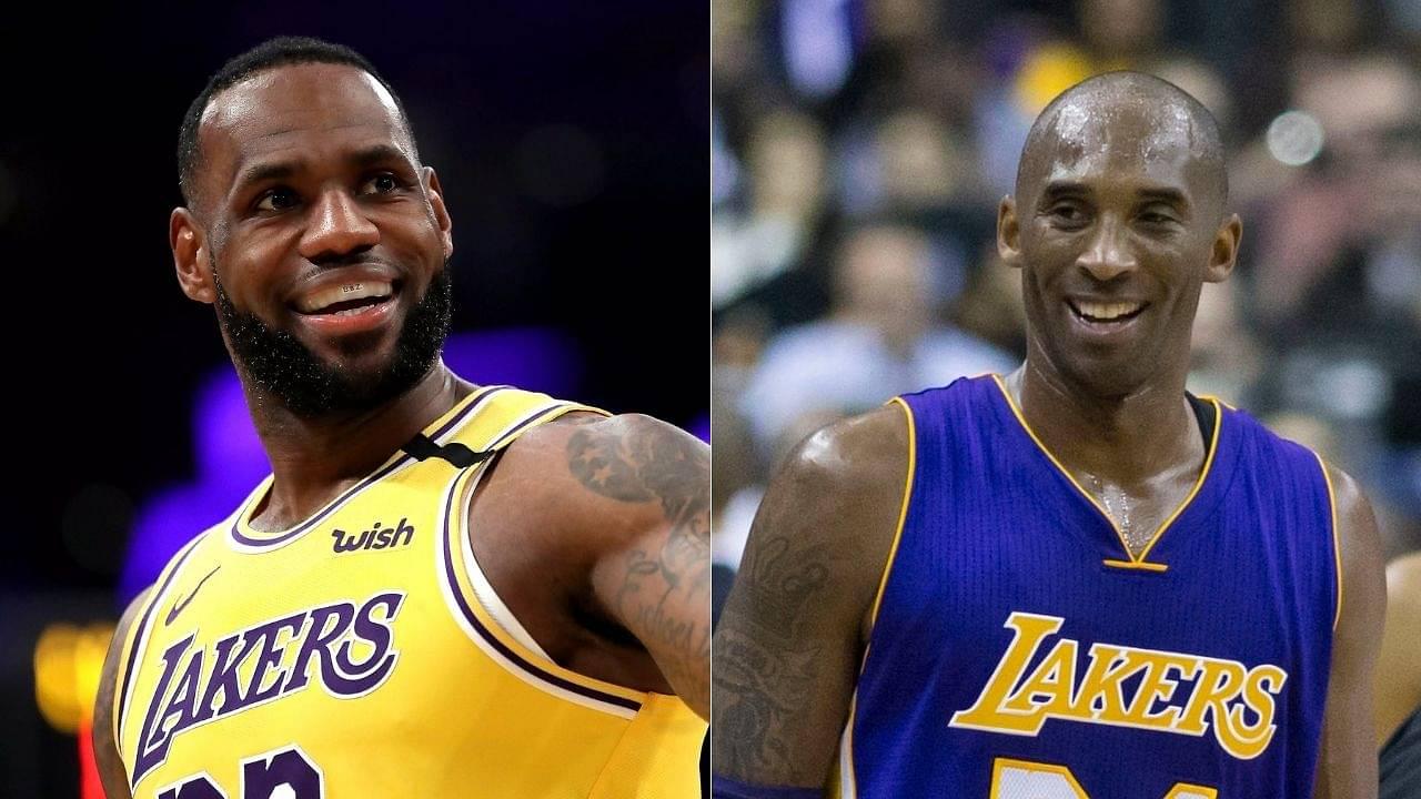 LeBron James on Kobe Bryant-Shaquille O'Neal duo