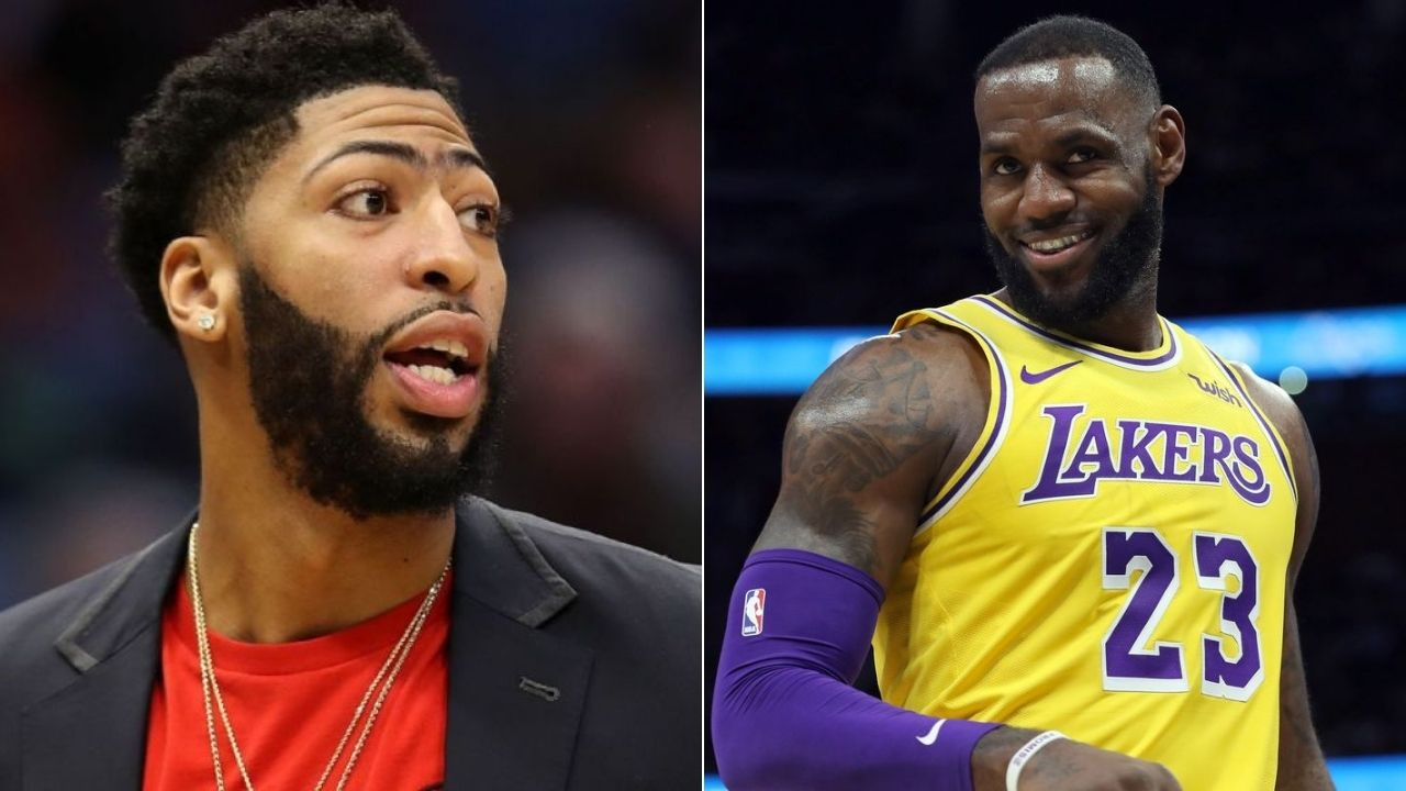 Want To Follow Motherf Er Lebron James Lakers Anthony Davis On Playing His 1st Nba Finals Vs Heat The Sportsrush