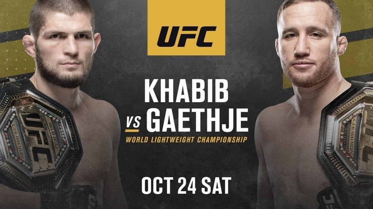 Watch: UFC Drops a Gripping Promo of Khabib Vs. Gaethje Fight