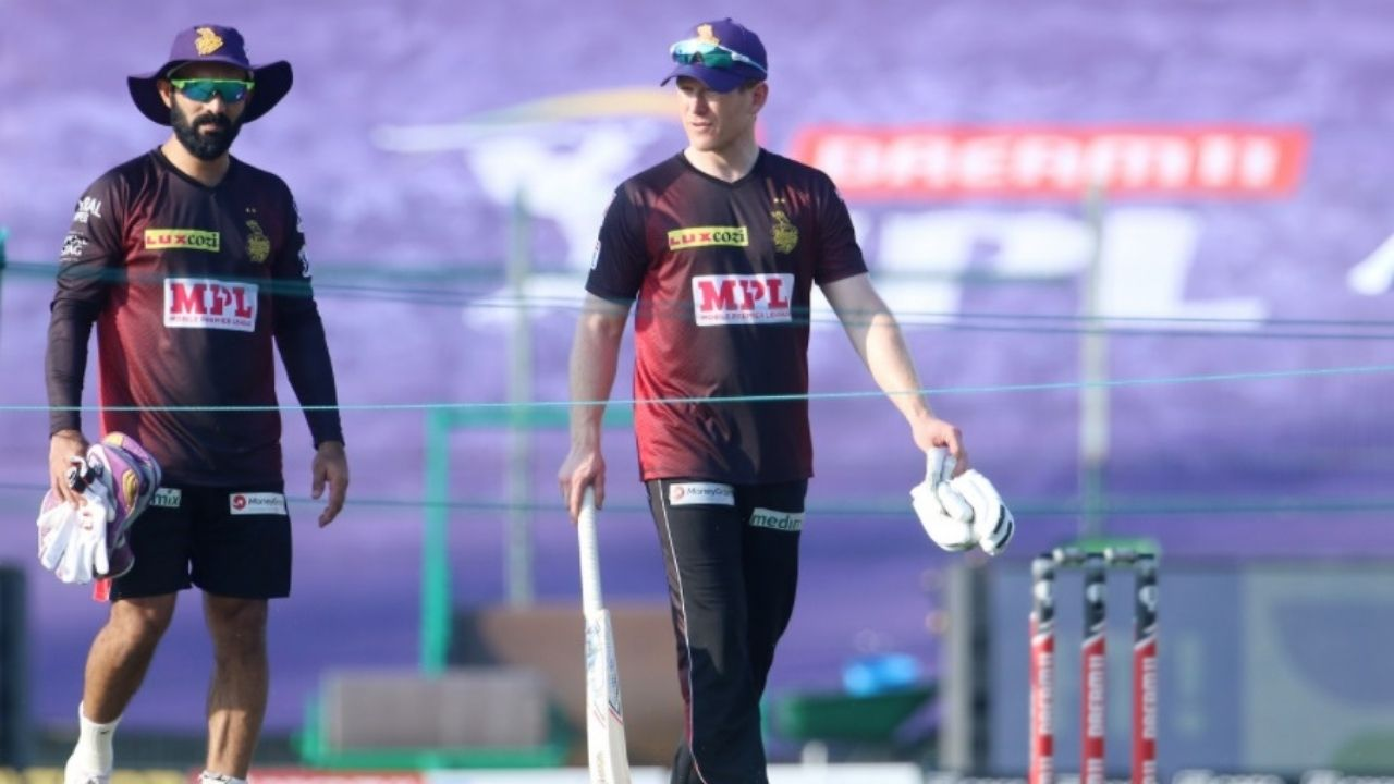 Eoin Morgan discloses why Dinesh Karthik batted ahead of him vs Mumbai Indians