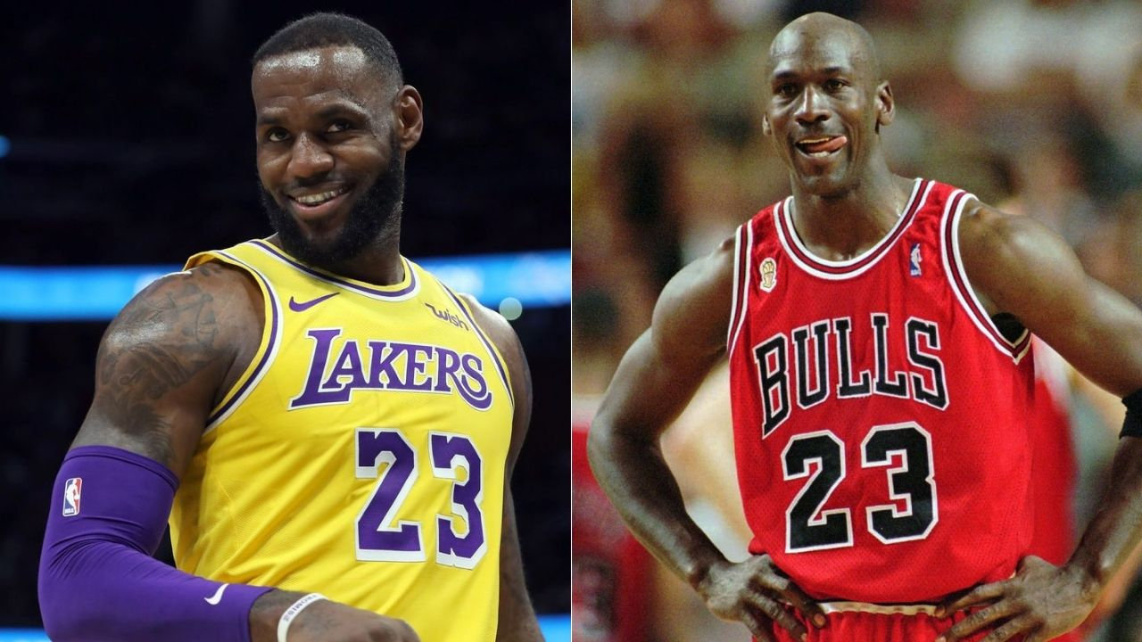 Skip Bayless on how Michael Jordan's athleticism puts him above Lakers' LeBron James