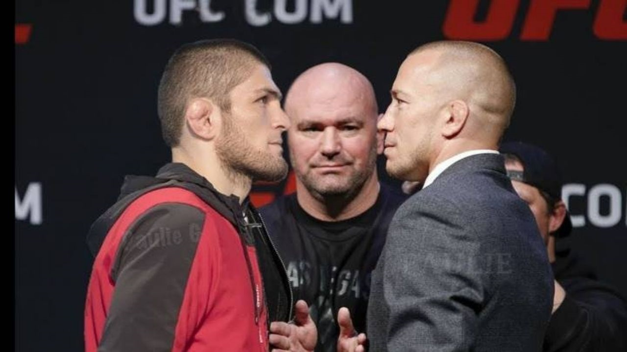 I Have A Mixed Feeling About It Gsp Opens Up About A Potential Clash With Khabib Nurmagomedov The Sportsrush