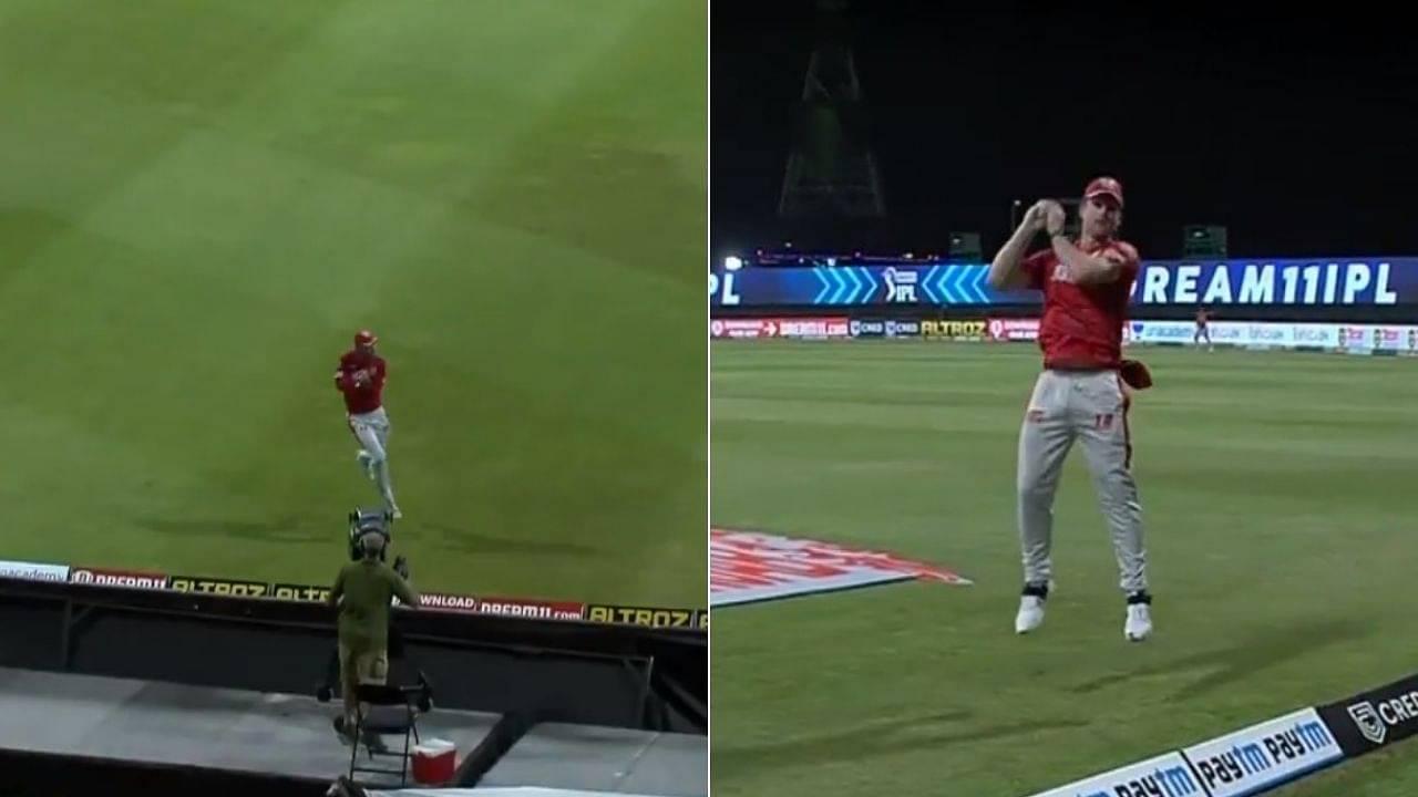 Glenn Maxwell-Jimmy Neesham catch vs MI: Watch KXIP overseas duo team up to dismiss Rohit Sharma