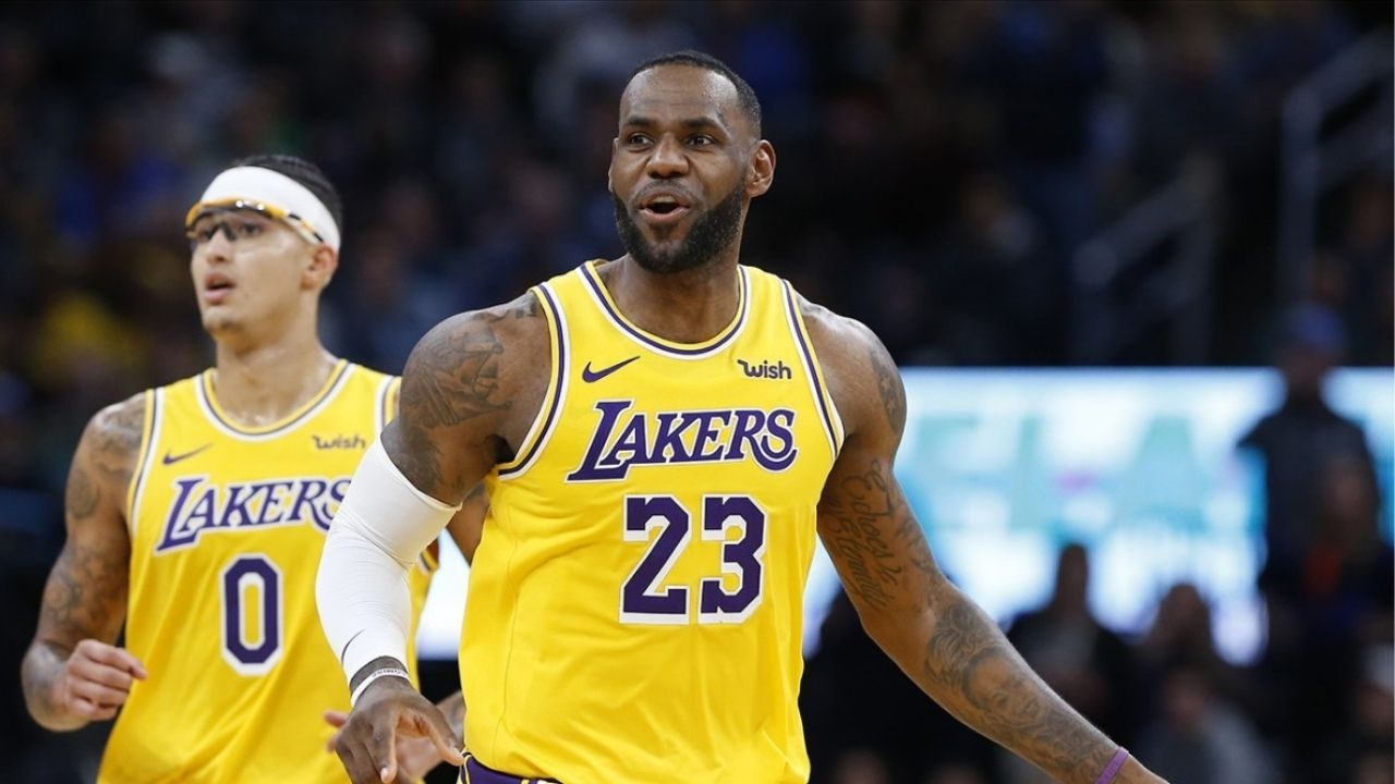 The Lakers are building a Big 3': LeBron James