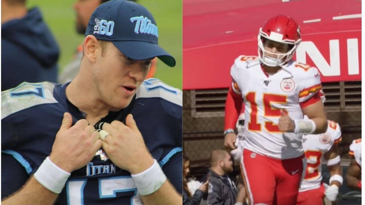 NFL News: Is Ryan Tannehill a better quarterback than Patrick Mahomes and Lamar Jackson?