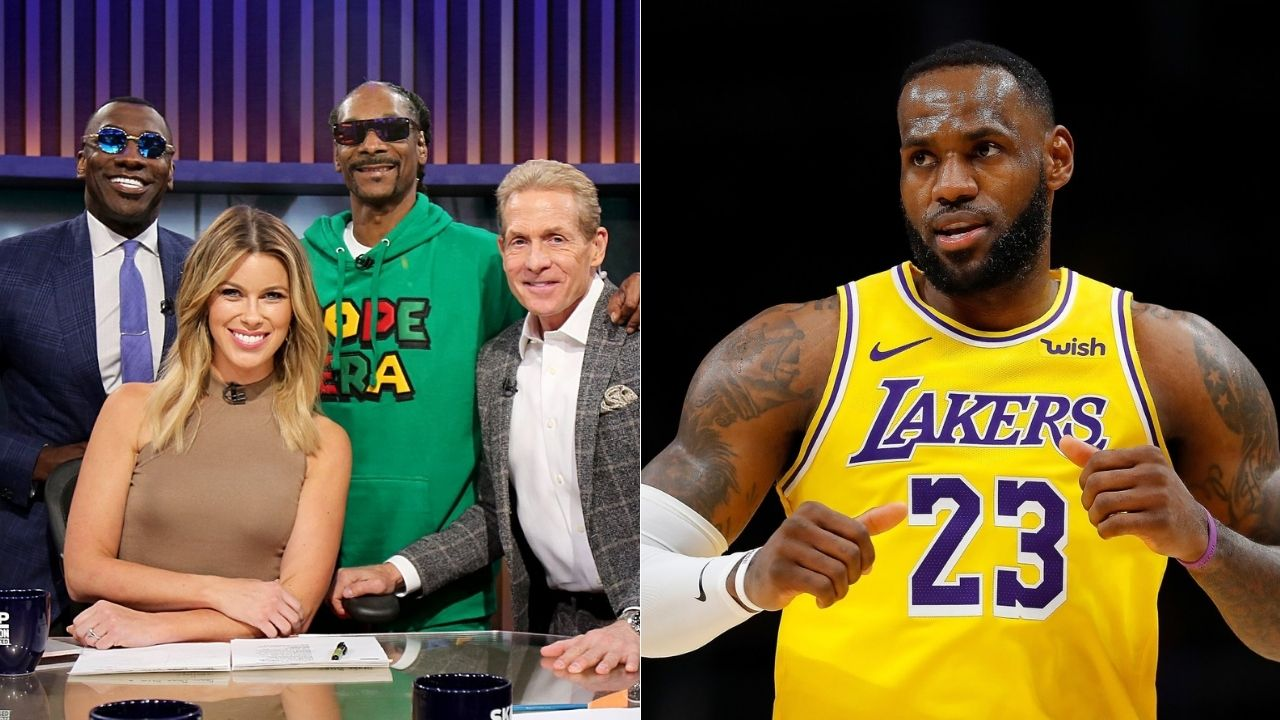 Shannon Sharpe and Snoop Dogg accuse Skip Bayless of defacing LeBron James' murals