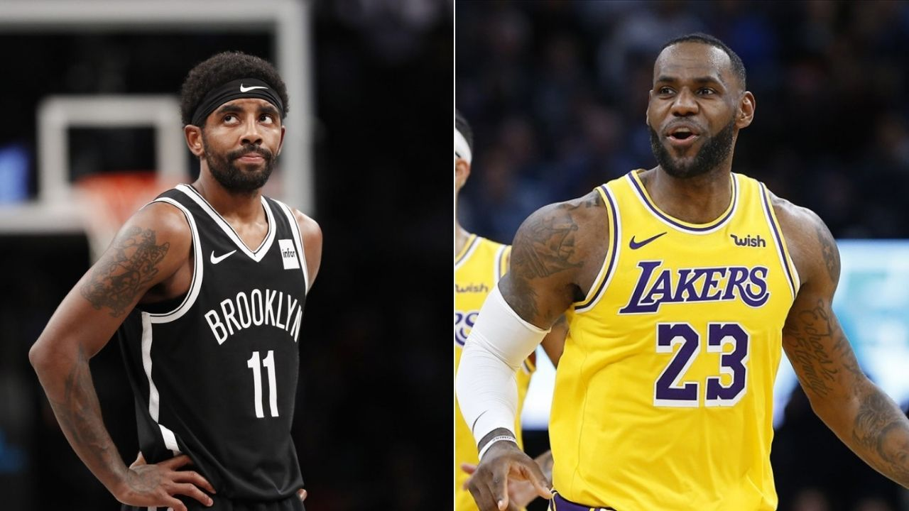 How is it to have a second father in LeBron James': When a reporter asked Kyrie Irving the most bizarre question
